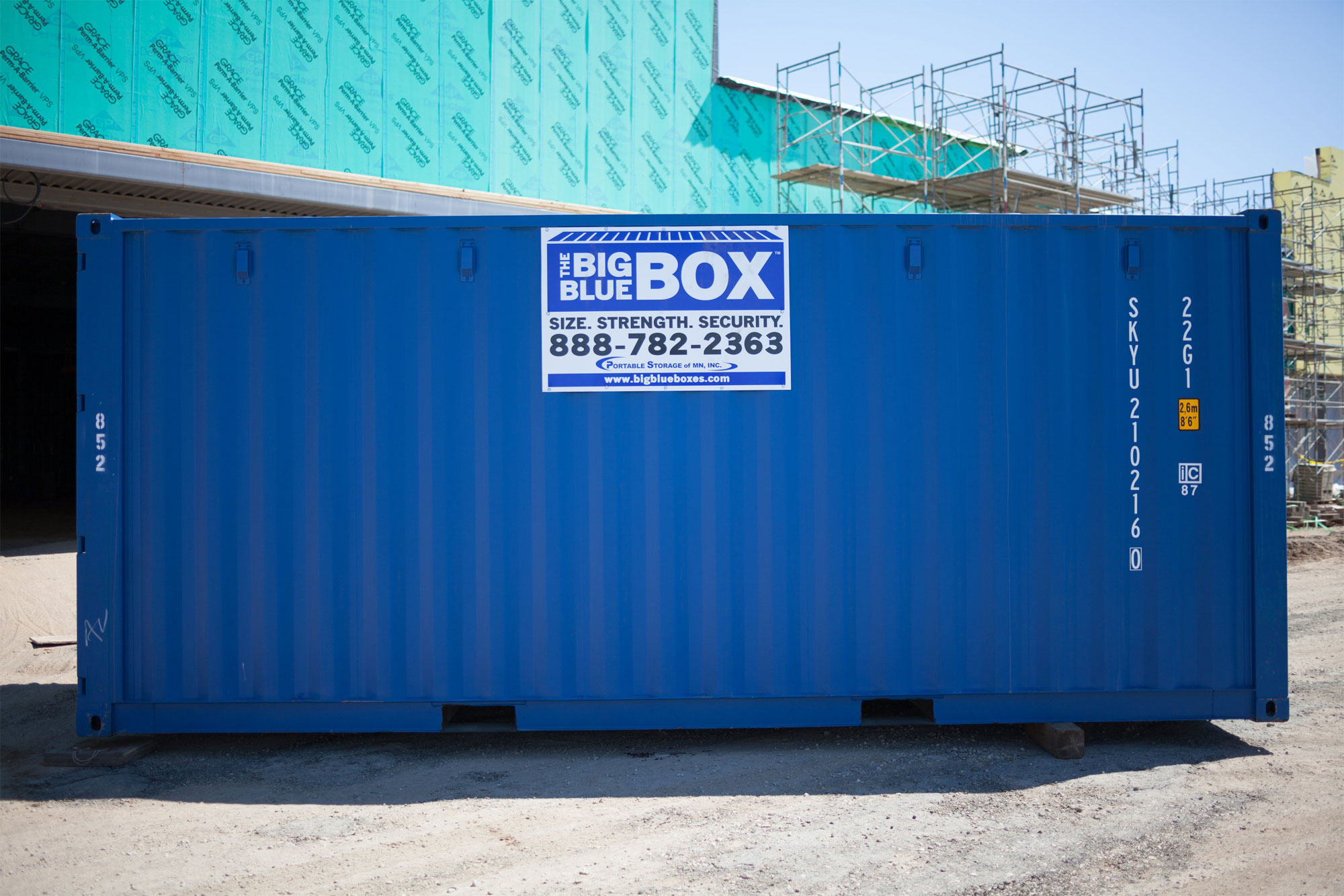 Portable Storage Rentals for Commercial & Residential Use