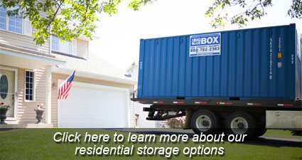 Residential Temporary Storage Rental